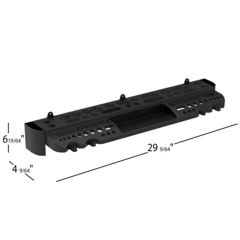 Parts /& Accessories 2019 CA4330 Durable Screwdriver Storage Box 20 Hole Hexagonal Socket Type Tool Rack Screwdriver Stowage Rack Color: Black, US