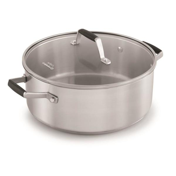 Calphalon Select 5 Qt. Stainless Steel Dutch Oven