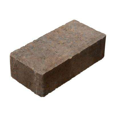 8 in. x 4 in. x 2.25 in. Tan Charcoal Concrete Paver (486-Pieces/Pallets)