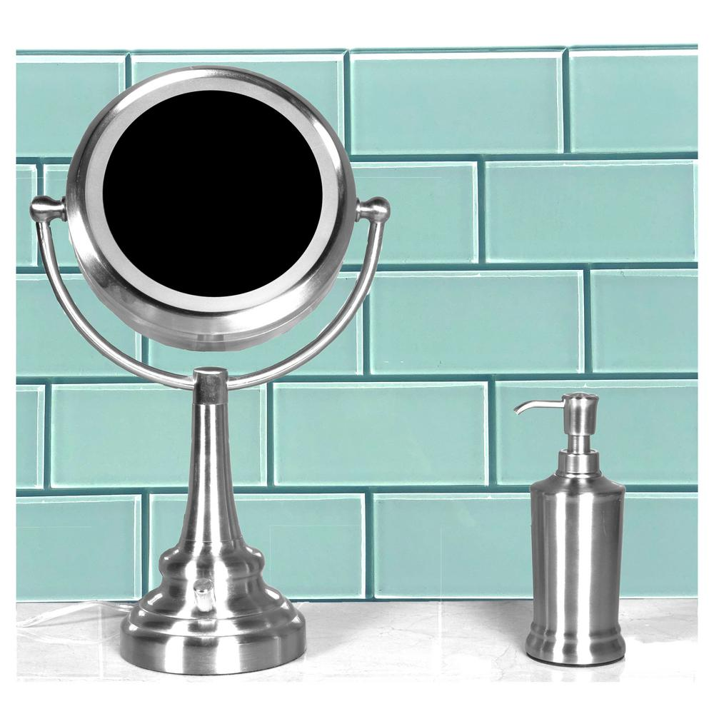 ABOLOS ABOLOS Subway 3 in. x 6 in. Light Baby Blue Glossy Glass Peel & Stick Decorative Bathroom Wall Tile Backsplash (10 sq.ft./box)