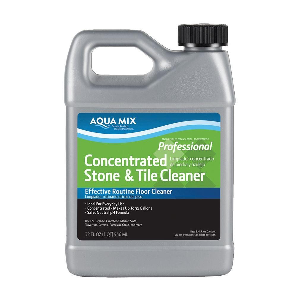 Aqua Mix 1 Qt. Concentrated Stone and Tile Cleaner