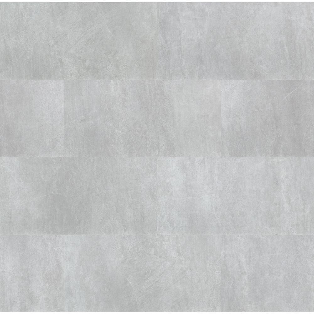 Concrete Park 12 in. W x 24 in. L Rigid Core Luxury Vinyl Tile Flooring ( 19.37 sq.ft. /case)