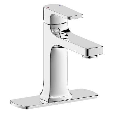 Chatelet Single-Handle 1 or 3 Hole 4 in centerset Bathroom Faucet in Chrome
