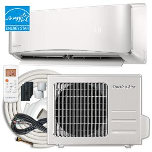 DuctlessAire Energy Star 18,000 BTU 1.5 Ton Ductless Mini Split Air Conditioner and Heat Pump Variable Speed Inverter -... by DuctlessAire