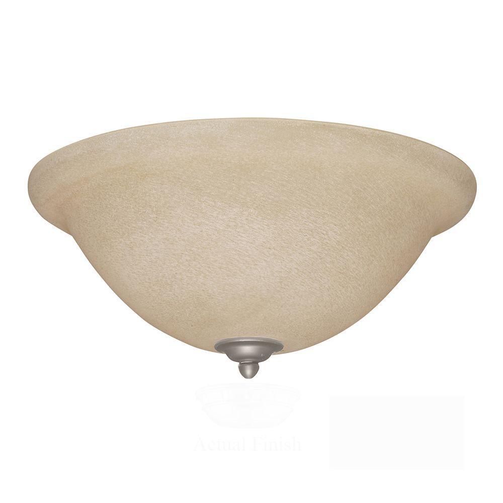 Illumine Zephyr 3-Light Antique Pewter Ceiling Fan Light Kit
