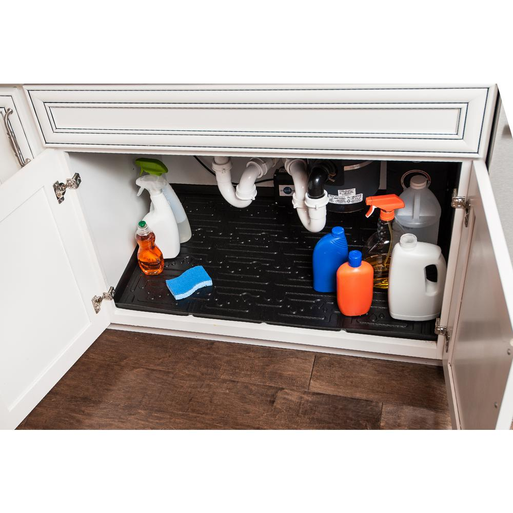 Under Kitchen Sink Lip Liner on kitchen drawer liners, kitchen shelf liners, kitchen cabinets liners, swimming pool liners, shower liners, bathroom tub liners, kitchen pantry liners, cupboard liners, kitchen closet liners, kitchen countertop liners, kitchen table liners,