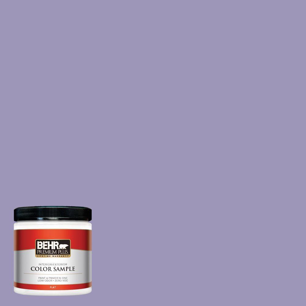 BEHR Premium Plus 8 oz. #640D-5 June Berry Interior/Exterior Paint Sample