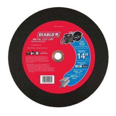 14 in. x 1/8 in. x 20 mm Metal High Speed Cut-Off Disc