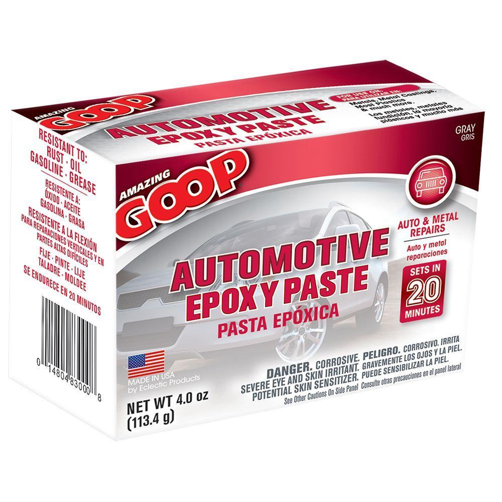 Amazing Goop 4 oz. Automotive Epoxy Paste Kit (8-Pack)
