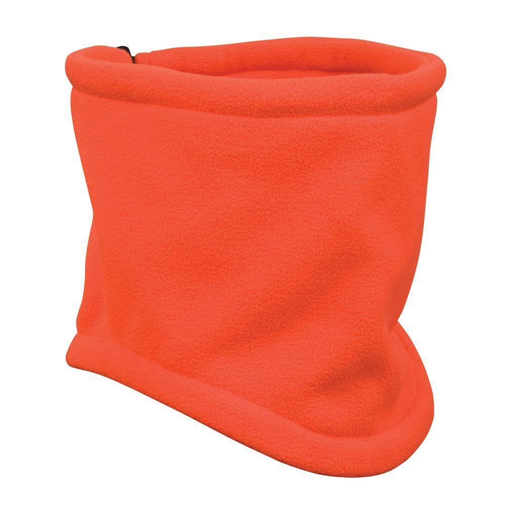 Orange Deluxe Blaze Fleece Gaiter