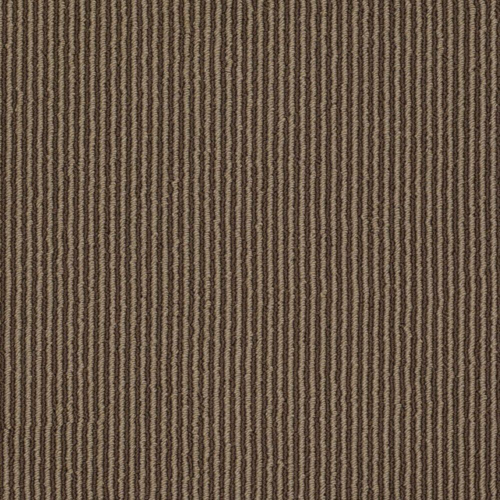 Martha Stewart Living Statford Heights - Color Molasses 6 in. x 9 in. Take Home Carpet Sample