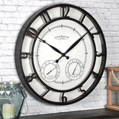 18 in. Round Park Outdoor Wall Clock