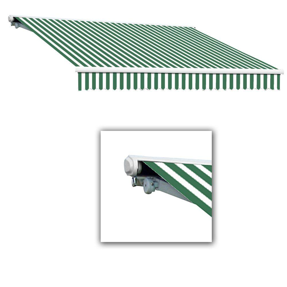 14 ft. Galveston Semi-Cassette Manual Retractable Awning (120 in. Projection) in