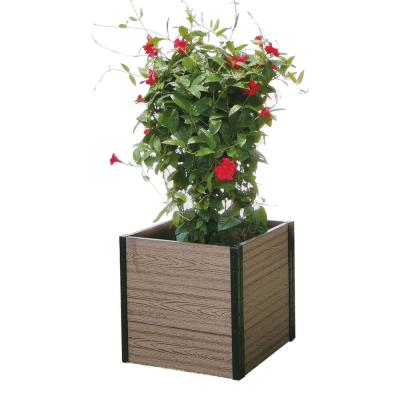 24 in. W x 21 in. D x 21 in. H Cornerstone Planter Bed