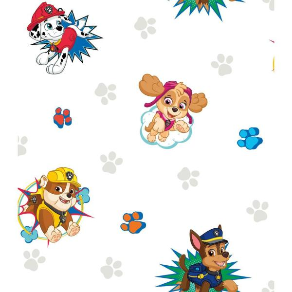 This is a graphic of Lucrative Paw Patrol Borders