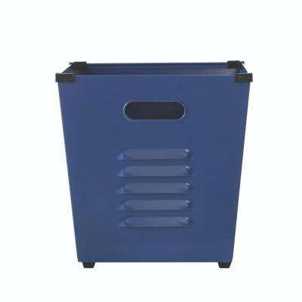 Lachlan Sapphire Metal Storage Bin (Set of 3)