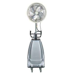 18 in. 3-Speed Portable and Oscillating High Pressure Misting Fan ...