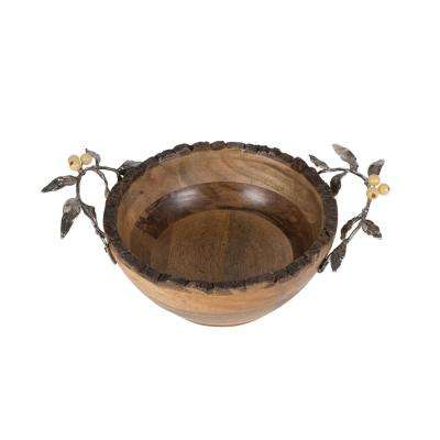 15 in. 76 oz. Woodgrove Serving Bowl