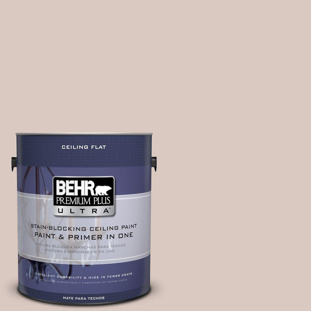 1 gal. #PPU2-6 Ceiling Tinted to Wisp Of Mauve Interior Paint