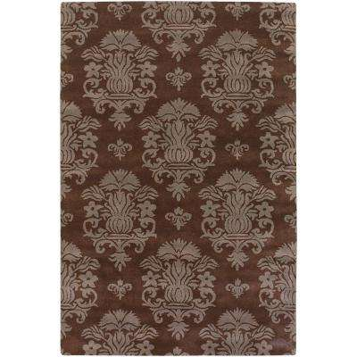 Antara Brown/Taupe 5 ft. x 7 ft. 6 in. Indoor Area Rug