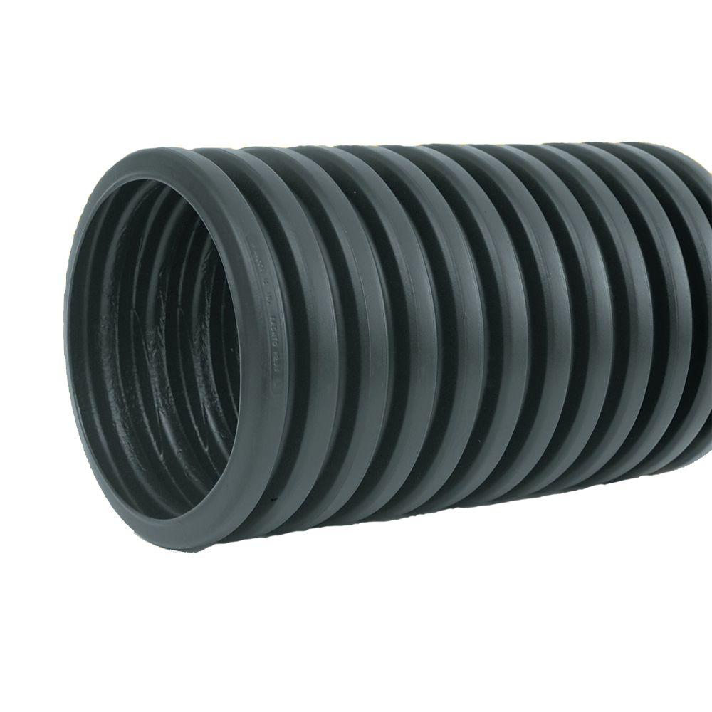 6 In X 20 Ft Core X Drain Pipe Solid 6510020 The Home