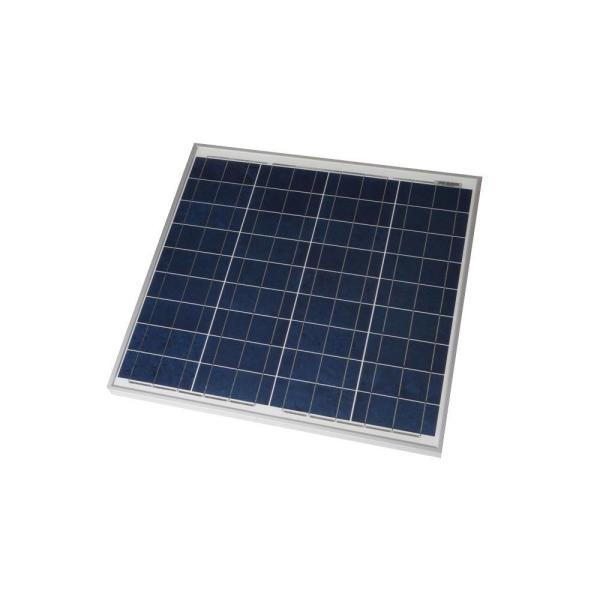 50-Watt Polycrystalline Solar Panel for RV's, Boats and 12-Volt Systems