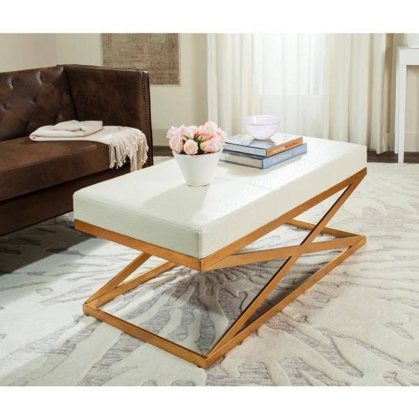 Alexes Clear/Gold Bench