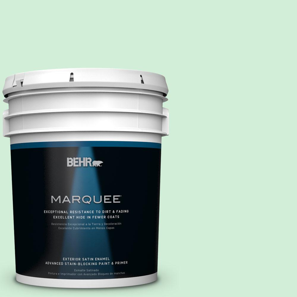 BEHR MARQUEE 5-gal. #P400-2 End of the Rainbow Satin Enamel Exterior Paint