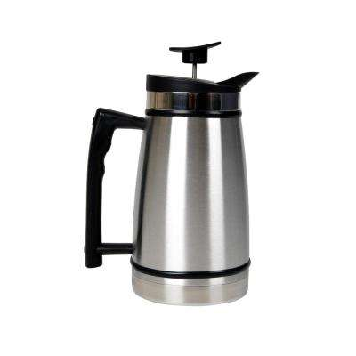12-Cup French Press in Stainless Steel