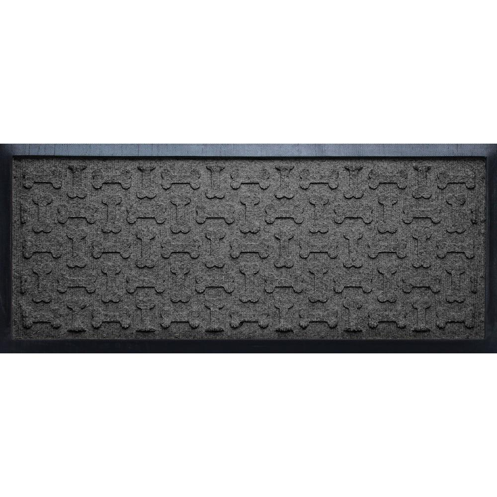 Aqua Shield Charcoal 15 In. X 36 In. Diamonds Boot Tray