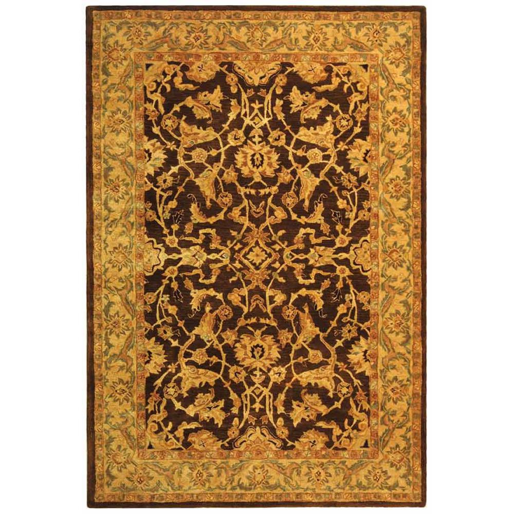 Anatolia Brown/Tan 6 ft. x 9 ft. Area Rug