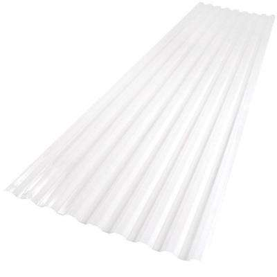 26 in. x 6 ft. White Opal Polycarbonate Roof Panel
