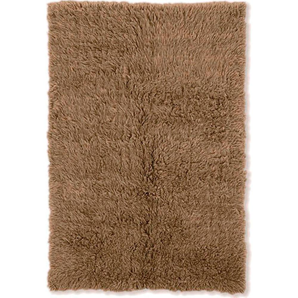 Linon Home Decor 3A Flokati Mushroom 9 ft. x 12 ft. Area Rug