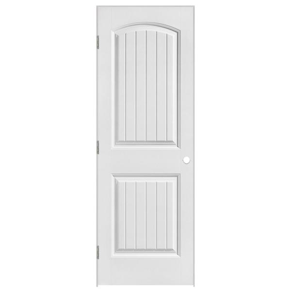 Masonite 24 In X 80 In Solidoor Cheyenne 2 Panel Solid Core Smooth Primed Composite Single Prehung Interior Door 19679 The Home Depot