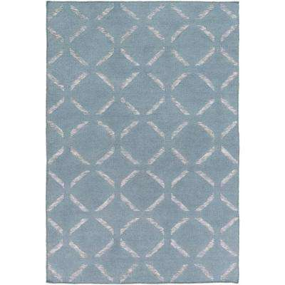 Kushiro Slate 6 ft. x 9 ft. Indoor Area Rug