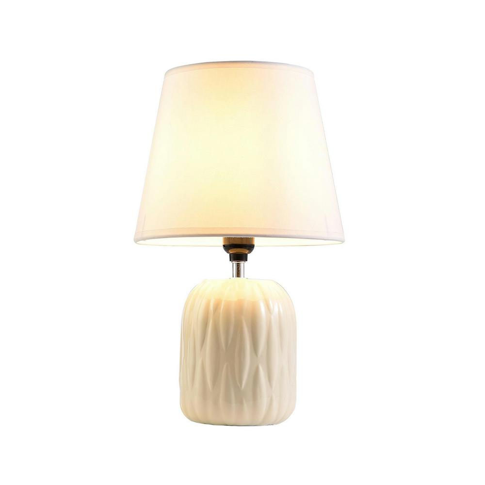 Ore international chandra 15 in ivory table lamp k 4504iv the ore international chandra 15 in ivory table lamp aloadofball Images