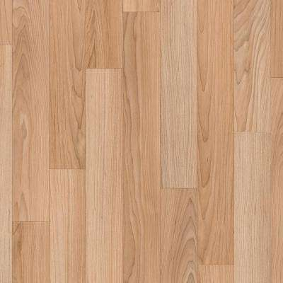 Take Home Sample - Oak Strip Natural Vinyl Sheet - 6 in. x 9 in.