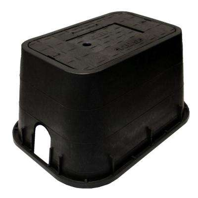 10 in. x 15 in. x 10 in. Meter Box and Plastic Drop-In Meter Reader Cover