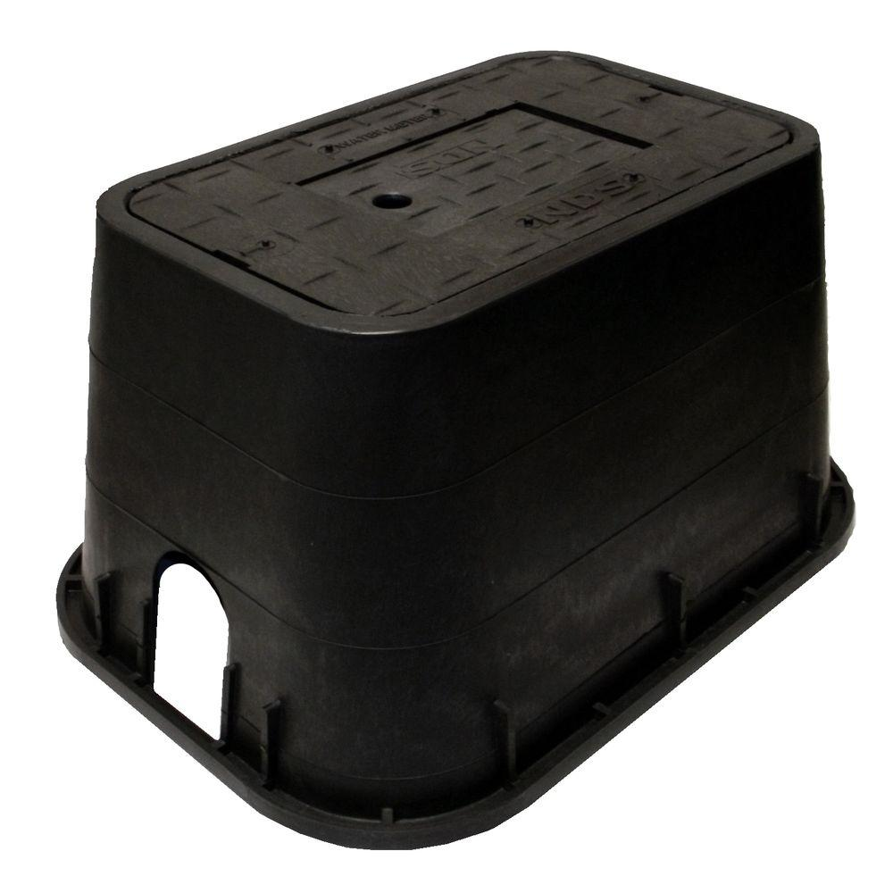 NDS 10 in. x 15 in. x 10 in. Meter Box and Plastic Drop-I...