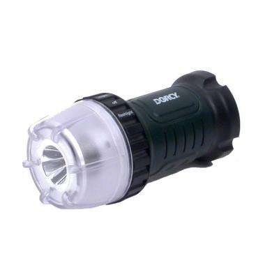 45 Lumen 4AA LED Dial-A-Light Flashlight with Battery