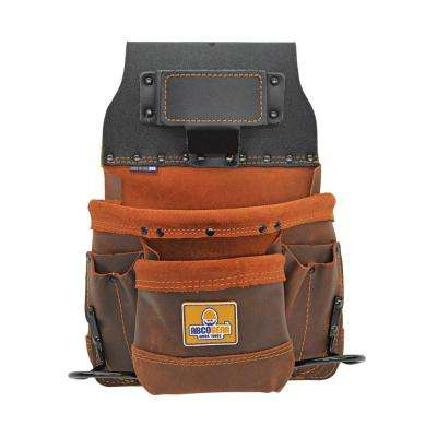 10 in. 8-Pocket Elite Series Tool and Fastener Pouch