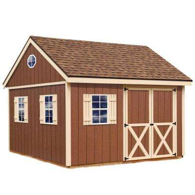 Mansfield 12 ft. x 12 ft. Wood Storage Shed Kit