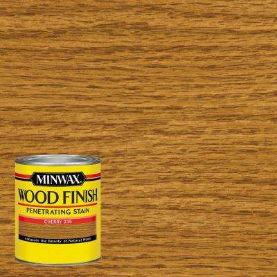 1-qt. Wood Finish Cherry Oil-Based Interior Stain (4-Pack)