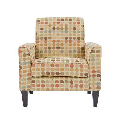 Baja Arm Chair in Beige Retro Dot