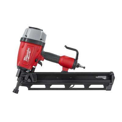 Reconditioned Pneumatic 3-1/2 in. 21-Degree Full Round Head Framing Nailer