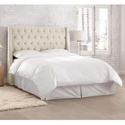 Bed Frame Mounted - Queen - White - Beds & Headboards - Bedroom ...