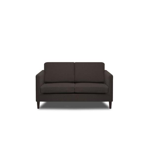 Fine Axis Ash Grey Loveseat S2G M1 L Yh5312 The Home Depot Gmtry Best Dining Table And Chair Ideas Images Gmtryco