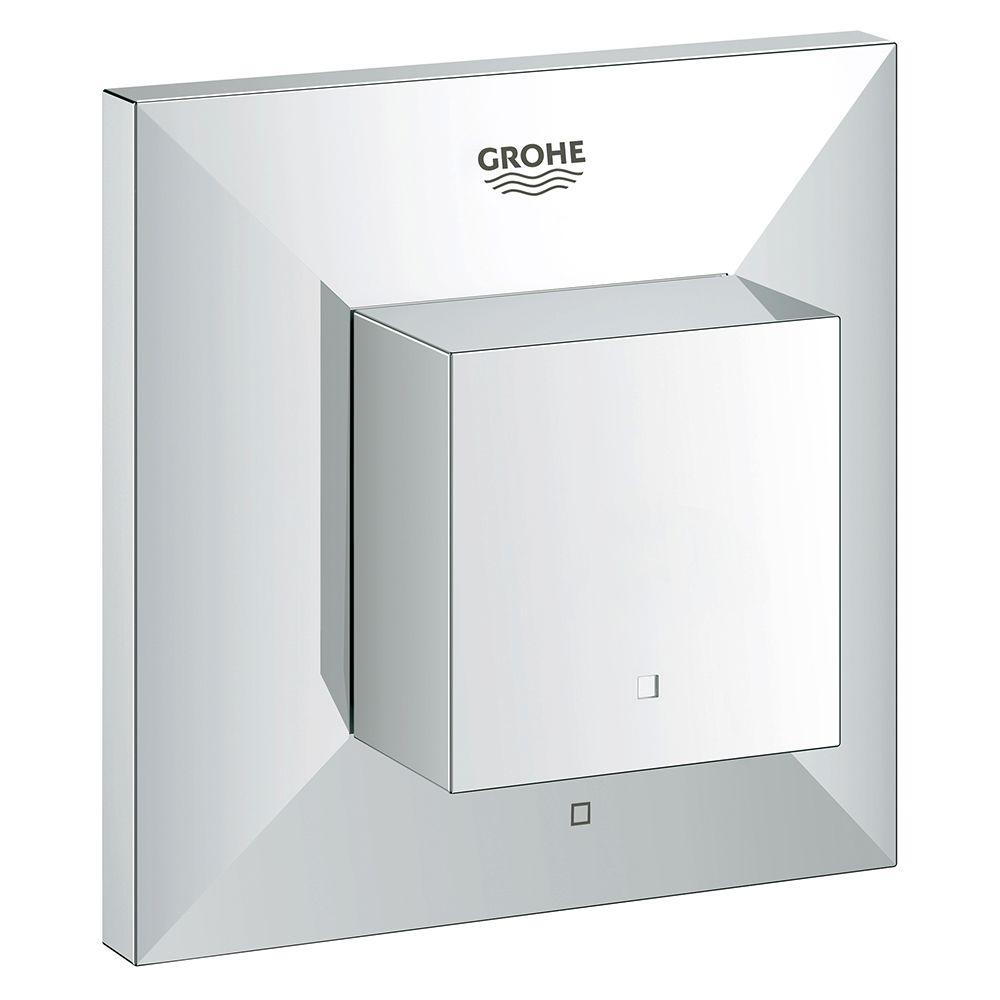 GROHE Allure Brilliant 1-Handle Volume Control Valve Only Trim Kit in StarLight Chrome (Valve Sold Separately)