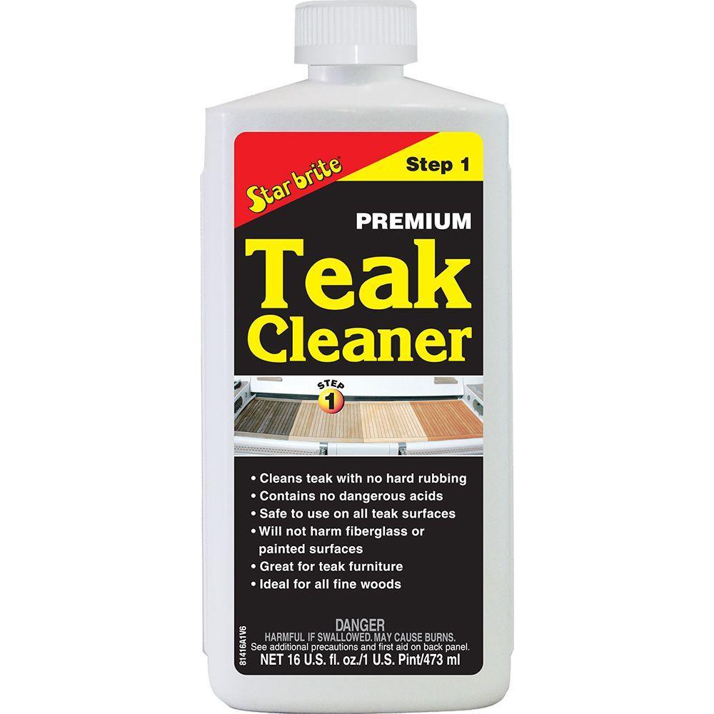 Star Brite 16 Fl Oz Teak Cleaner 081416 The Home Depot