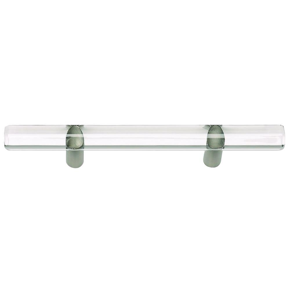 Optimism Collection Brushed Nickel 6 in. Rail Pull